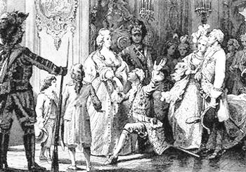 Пир у князя Потёмкина в Таврическом дворце 28 апреля 1791 года