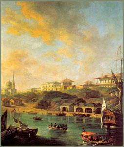 Алексеев Ф.Я. Вид города Николаева 1799 г.