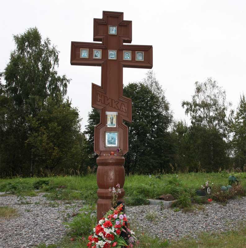 Мраморный крестик Отрадный вертикальные памятники Верхоянск